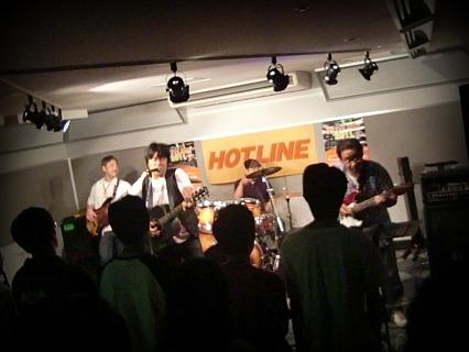 島村楽器 奈良店 HOTLINE2011 ライブ バンド BASARA