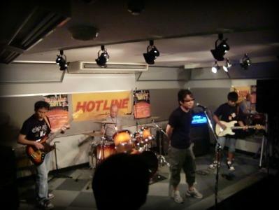 島村楽器 奈良店 HOTLINE2011 ライブ バンド Bazooka