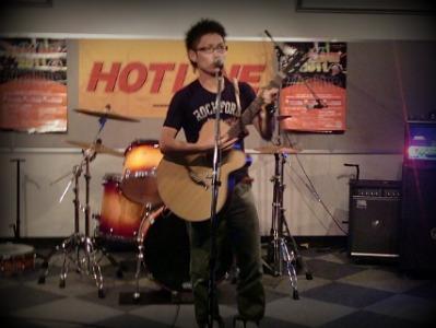 島村楽器 奈良店 HOTLINE2011 ライブ バンド 中西 弘和