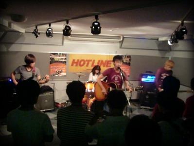 島村楽器 奈良店 HOTLINE2011 ライブ バンド くりかりんご