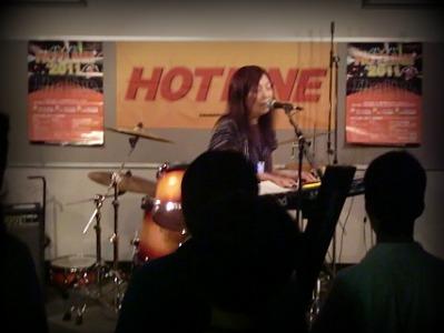島村楽器 奈良店 HOTLINE2011 ライブ バンド tiny memory