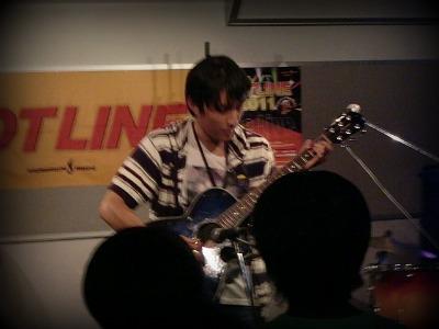島村楽器 奈良店 HOTLINE2011 ライブ バンド NAOKI