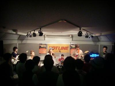 島村楽器 奈良店 HOTLINE2011 ライブ バンド 久米田バンド