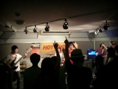 島村楽器 奈良店 HOTLINE2011 ライブ バンド Trinity-V