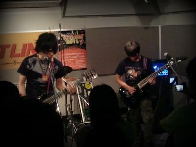 島村楽器 奈良店 HOTLINE2011 ライブ バンド Recurrence to Nothing