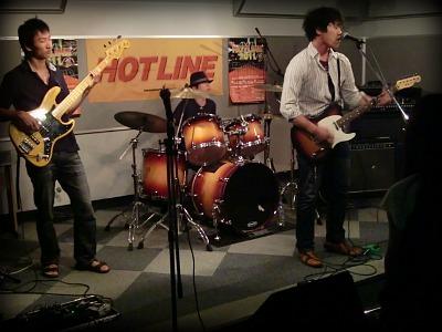 島村楽器 奈良店 HOTLINE2011 ライブ バンド Brighym