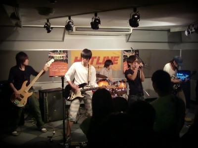 島村楽器 奈良店 HOTLINE2011 ライブ バンド Kosmo Srave
