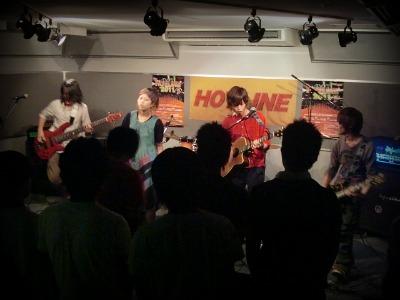 島村楽器 奈良店 HOTLINE2011 ライブ バンド 閃光少女