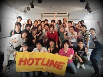 島村楽器 奈良店 HOTLINE2011 ライブ バンド 集合写真