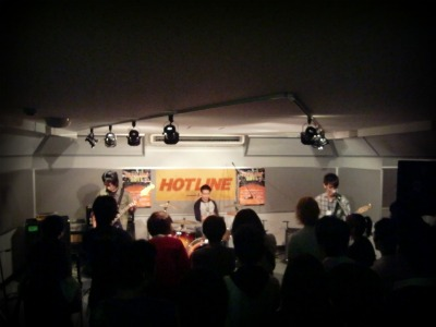 島村楽器 奈良店 HOTLINE2011 ライブ バンド 鶏頭