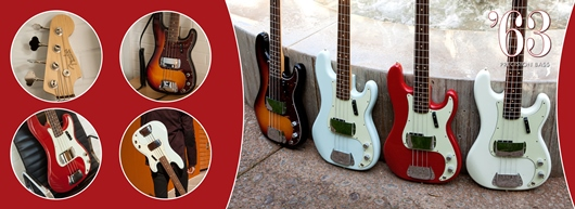 American Vintage '63 Precision Bass®