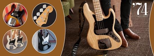 American Vintage '74 Jazz Bass®