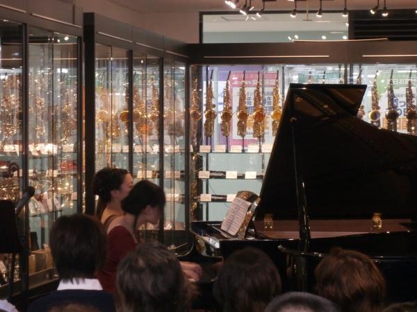 島村楽器奈良店 ピアノ教室 講師演奏