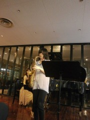 島村楽器奈良店 サックスフェアコンサートの様子