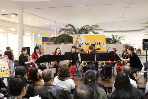 島村楽器管フェス サックス演奏
