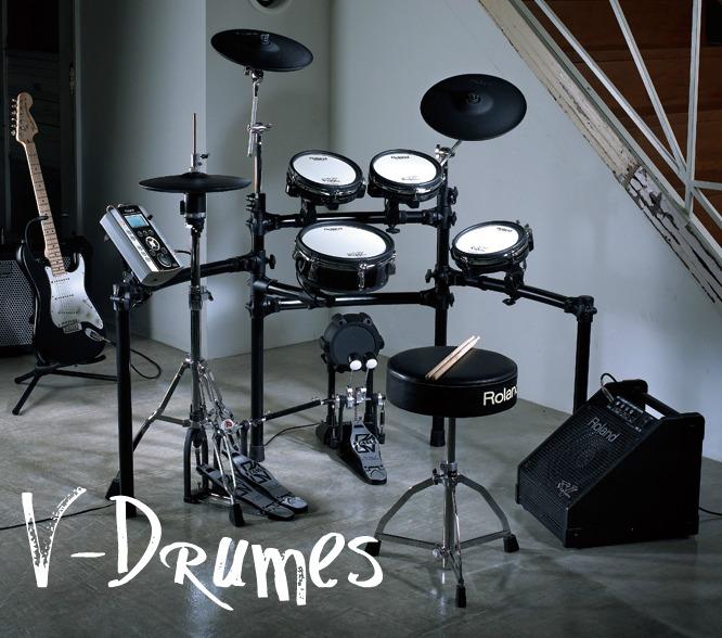 V-Drumesセミナー開催!!