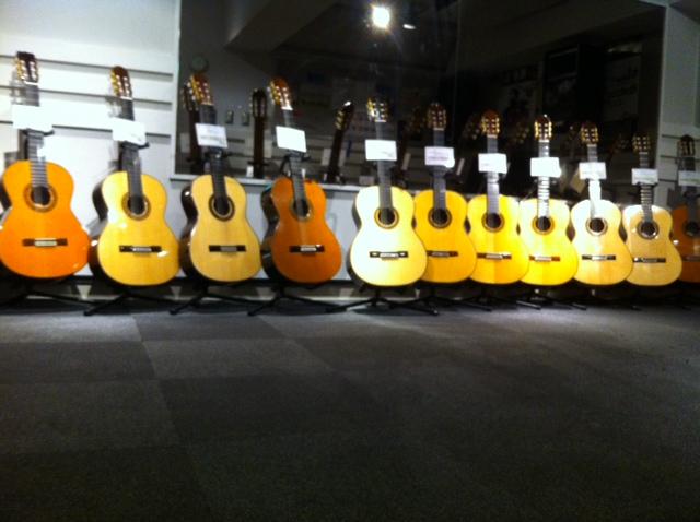 クラシックギターフェア会場