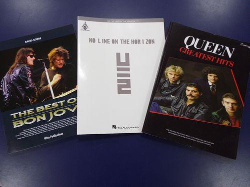 BON JOVI・U2・QUEEN