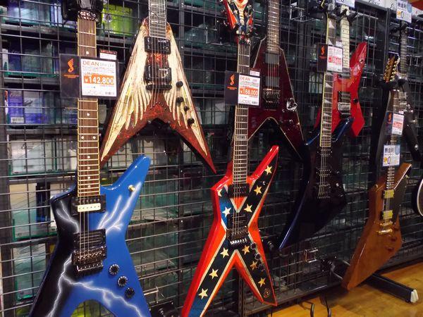 HR/HMギター売り場
