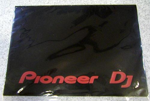 PIONEER DJ ロゴ入りクリアファイル