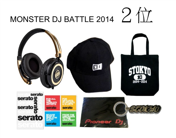 MONSTER DJ BATTLE 2014 2ND