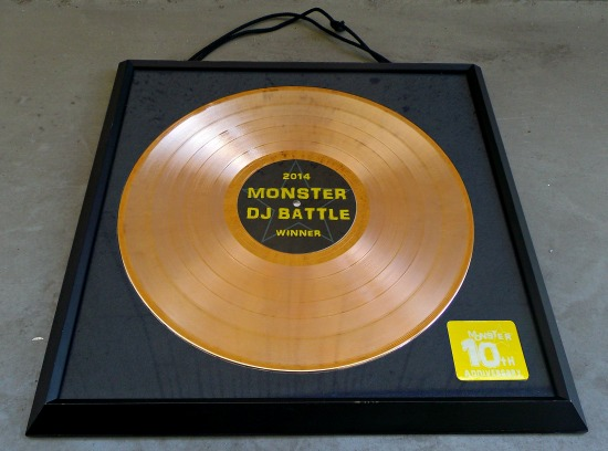 MONSTER DJ BATTLE 2014 GOLD DISC