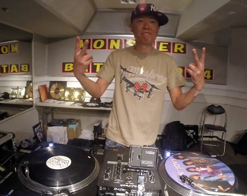 MONSTER DJ BATTLE 2014 3RD O-ike
