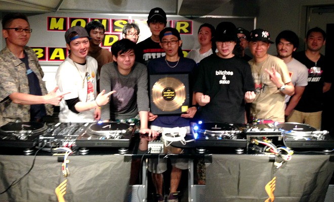 MONSTER DJ BATTLE 2014集合写真