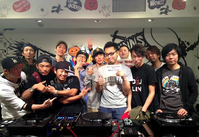 New Trick DJ Battle 2014 関西予選 集合写真