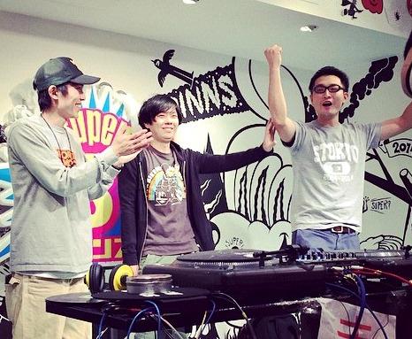 DJ Satoyonが優勝!