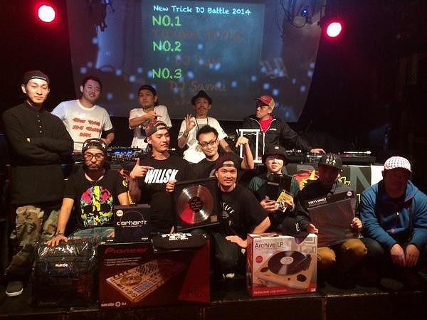New Trick DJ Battle 2014 参加者集合写真