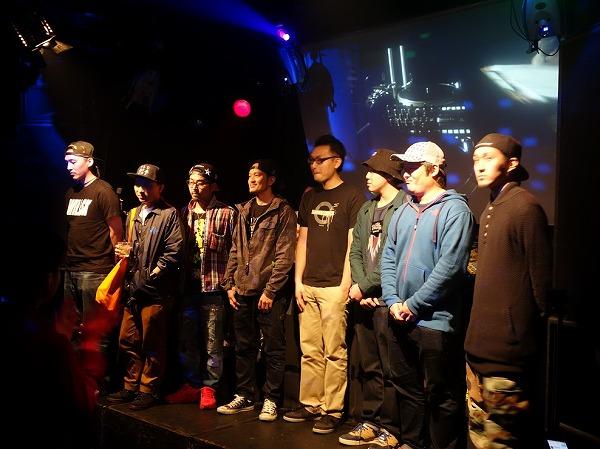 New Trick DJ Battle 2014 JAPAN FINAL 出場DJ