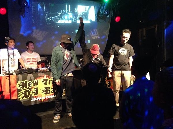 DJ samuが3位!