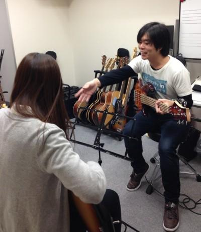 川田先生レッスン風景