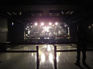 ライブハウスの中