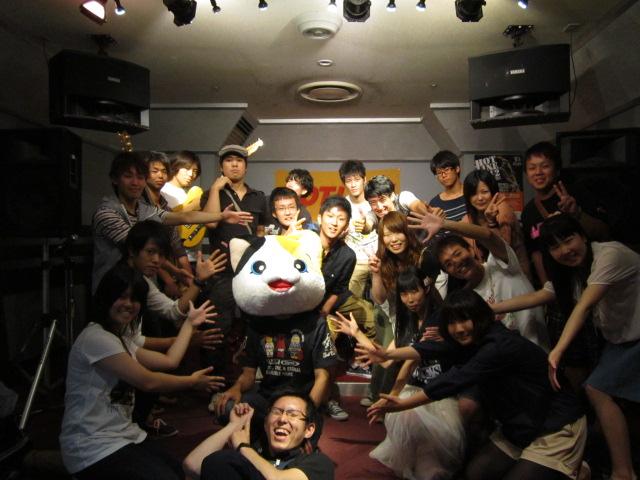 8/5 HOTLINE2012予選ライブ 集合写真