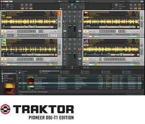 TRAKTOR PIONEER DDJ-T1 EDITION