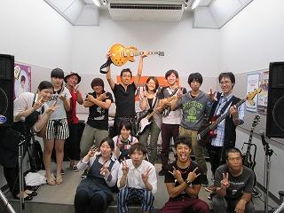 HOTLINE2013 7月28日(日)ショップオーディション イオンモール日吉津店 集合写真