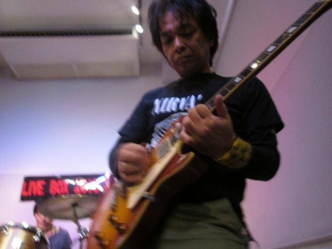 20131215livebox 715 ギター