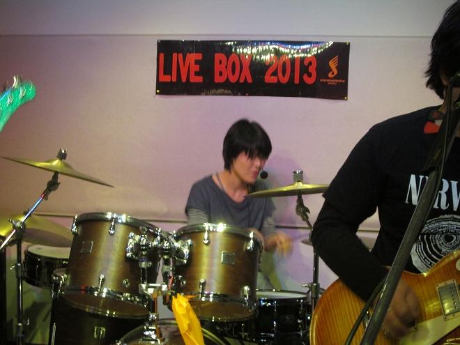 20131215livebox 715 ドラム