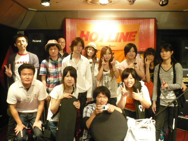 7/25出演バンド集合写真