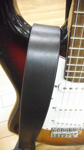 ギターストラップ 皮