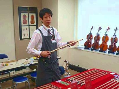弦楽器技術者 柳武 利雄