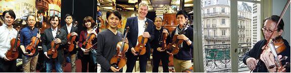 バイオリン欧州買い付け