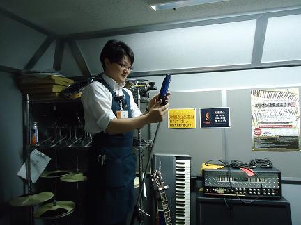 久留米店 HOT LINE2014 担当スタッフ:龍さん