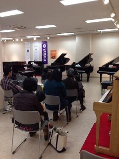 ピアノコンサートの様子