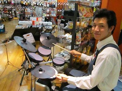 島村楽器長崎アミュプラザ店V-Drums Lite HD-3