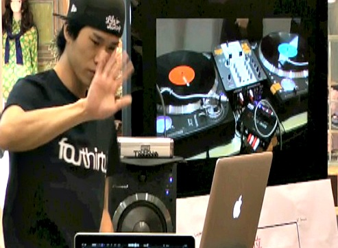 DJ Anonymous 決勝戦一本目!