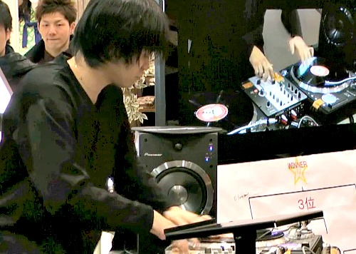DJ Buruaaaa三位決定戦一本目!