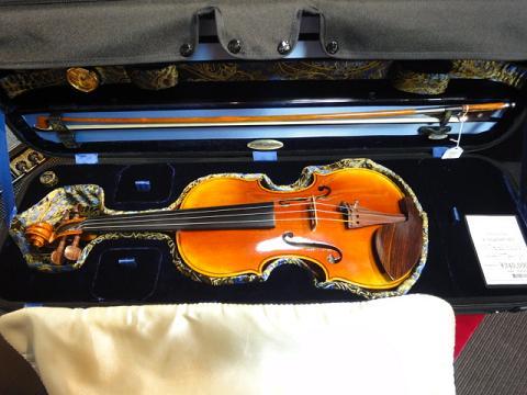 アンリ・デリル バイオリンセット写真